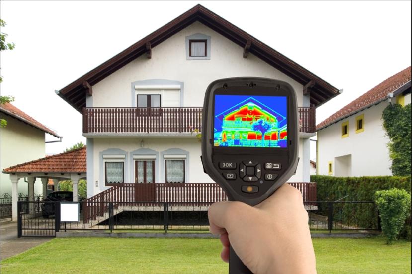 Novo u našoj ponudi: termografsko snimanje i analiziranje toplinskihgubitaka!